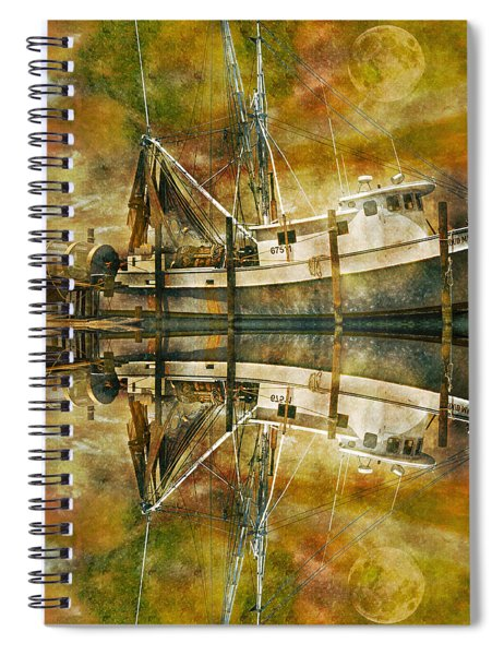 Nautical Timepiece Spiral Notebook