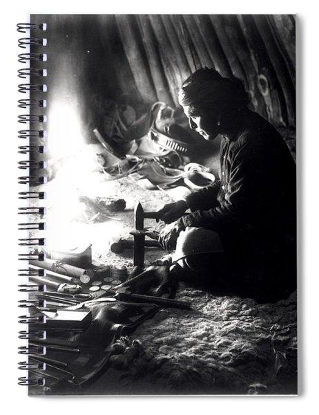 Navaho Silversmith Spiral Notebook