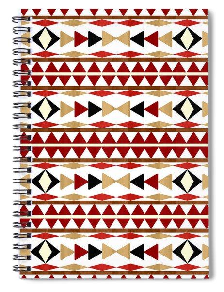 Navajo White Pattern Spiral Notebook