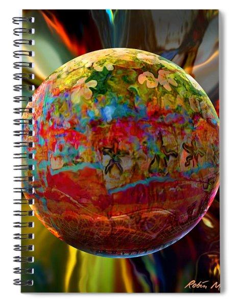 Na'vi Sphere Spiral Notebook