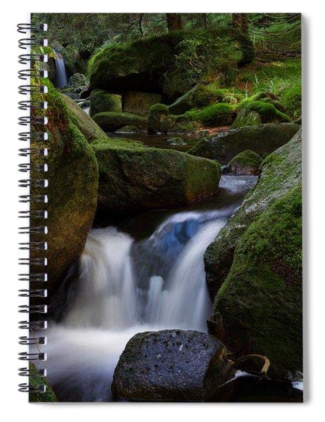 near the Brocken, Harz Spiral Notebook