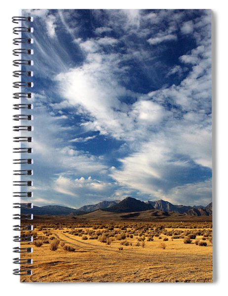 Near The Intersection Of God And The Eastern Sierras Spiral Notebook