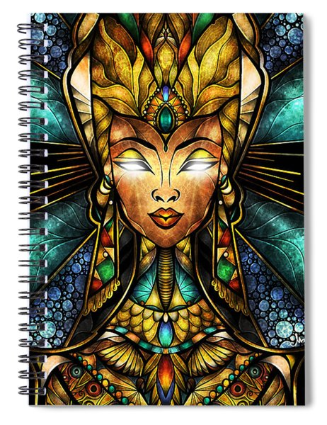 Nefertiti Spiral Notebook