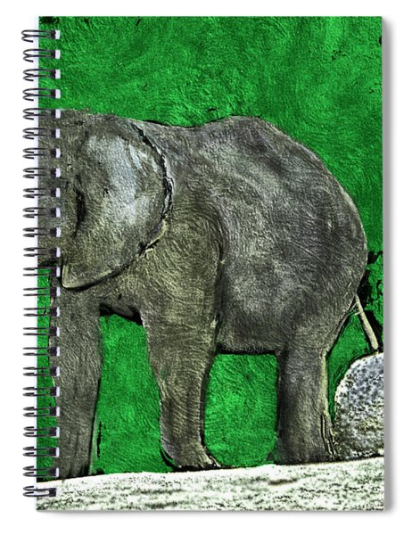 Nelly The Elephant Spiral Notebook