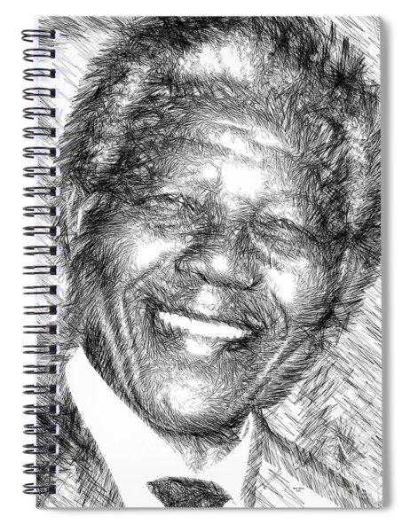 Nelson Mandela Spiral Notebook