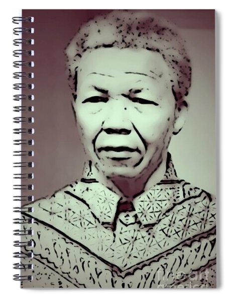Mandela Spiral Notebook