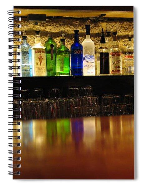 Nepenthe's Bottles Spiral Notebook