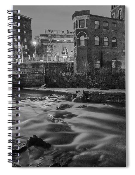 Neponset At Night Spiral Notebook