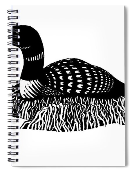 Nesting Loon Spiral Notebook