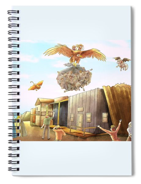 Netting The Bad Guys Spiral Notebook