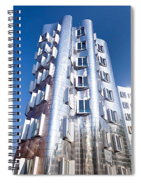 Neuer Zollhof Building Designed Spiral Notebook
