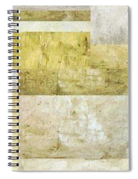 Neutral Study No. 5 Spiral Notebook by Michelle Calkins