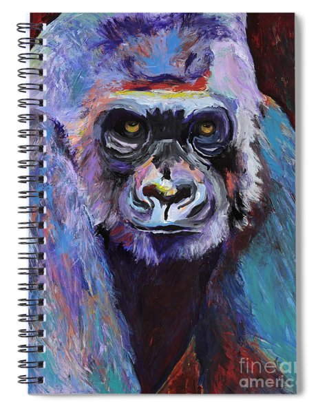 Never Date A Gorilla With A Nice Smile Spiral Notebook