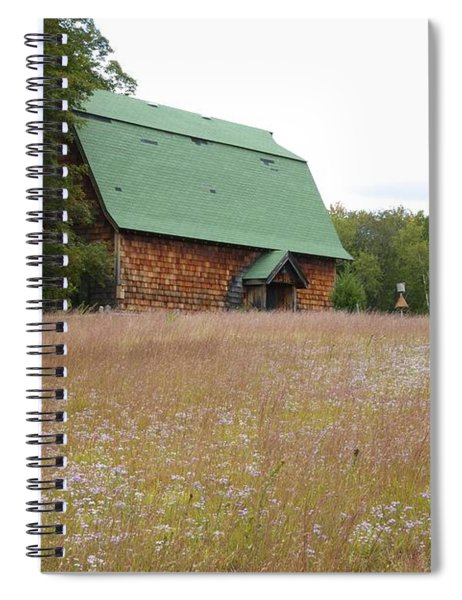 New England Scene Spiral Notebook