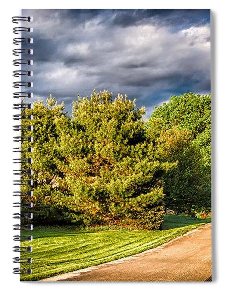 New England Spring 52 Spiral Notebook