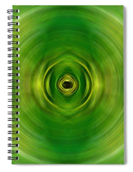 New Growth - Green Art By Sharon Cummings Spiral Notebook