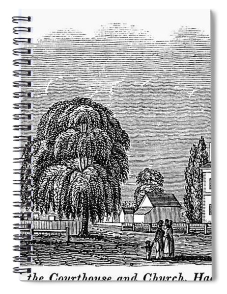 New Jersey Hackensack Spiral Notebook