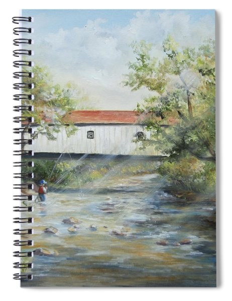 New Jersey's Last Covered Bridge Spiral Notebook