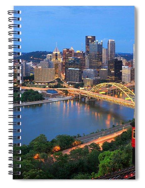 Pittsburgh Summer  Spiral Notebook