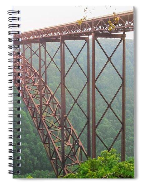 New River Gorge Bridge   Spiral Notebook