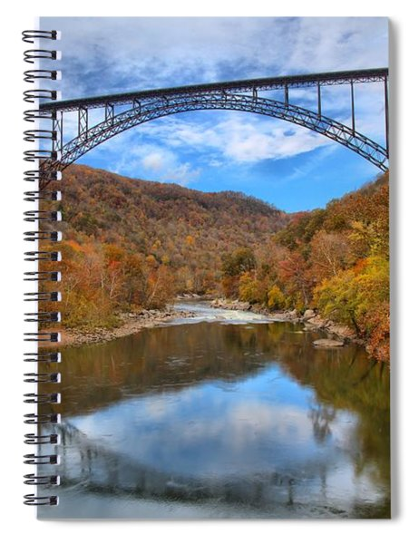 New River Gorge Reflections Spiral Notebook