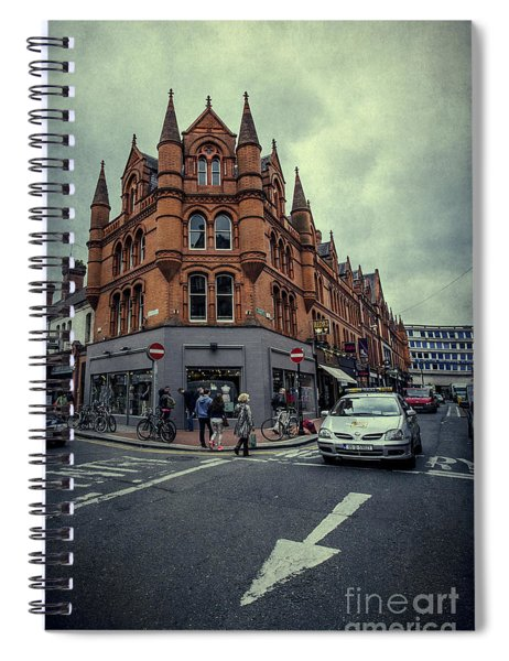 New Road. Old City. Spiral Notebook