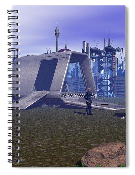 New Sentry Deployment Spiral Notebook