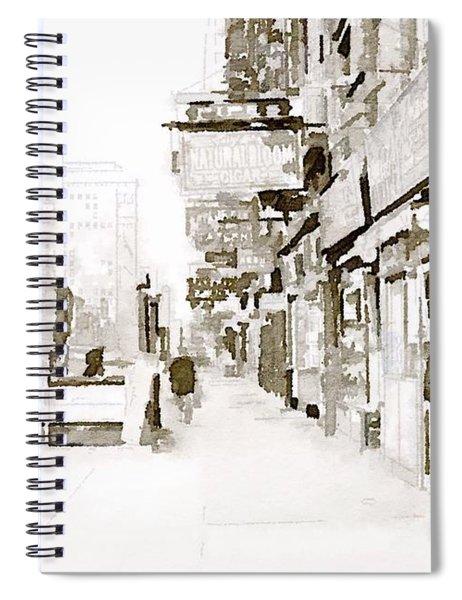 New York 1940 Spiral Notebook