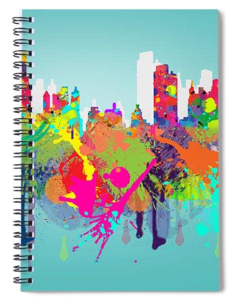 New York 7 Spiral Notebook