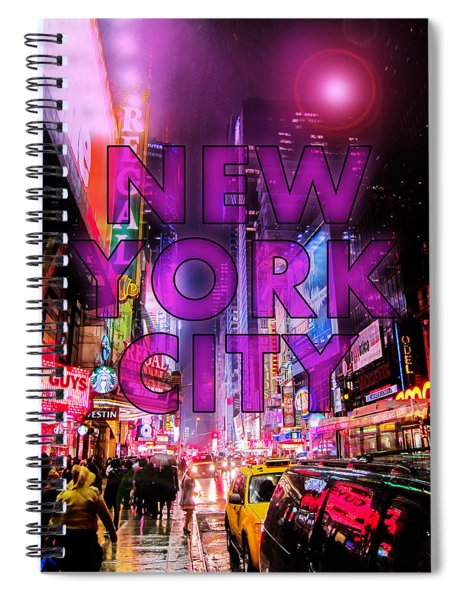 New York City - Color Spiral Notebook