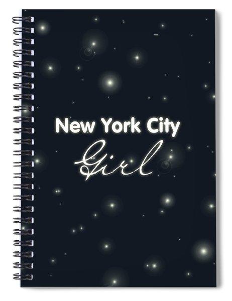 New York City Girl Spiral Notebook
