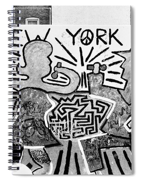 New York City Graffiti Spiral Notebook