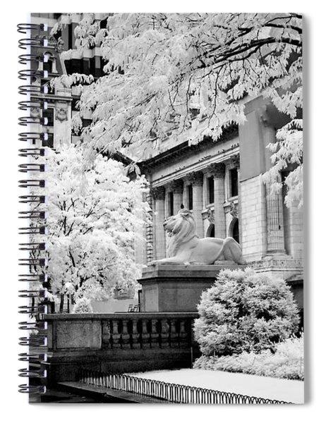 New York Public Library Ir Spiral Notebook