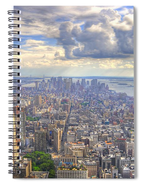 New York State Of Mind Spiral Notebook