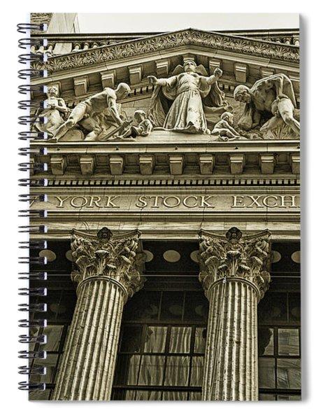 New York Stock Exchange Spiral Notebook