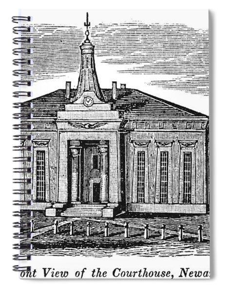Newark Courthouse, 1844 Spiral Notebook