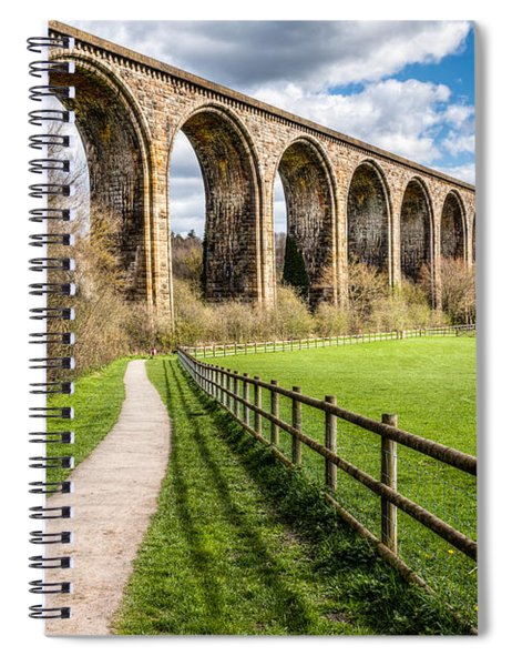 Newbridge Viaduct Spiral Notebook