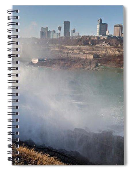 Niagara Falls Panorama Spiral Notebook