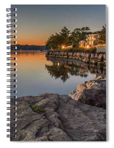 Spiral Notebook featuring the photograph Niagara On The Lake  by Garvin Hunter