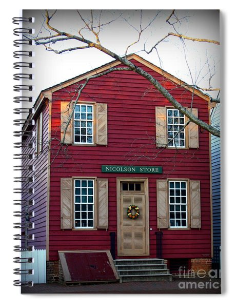 Nicolson Store Spiral Notebook by Patti Whitten