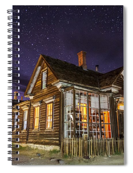 Night At The Cain House Spiral Notebook