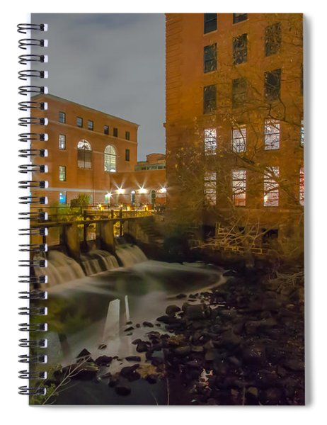 Night At The River Spiral Notebook