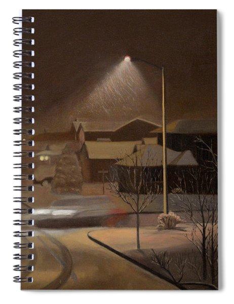 Night Drive Spiral Notebook