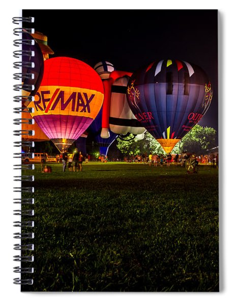 Night Glow Spiral Notebook