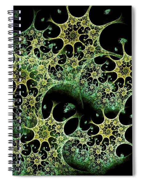 Night Lace Spiral Notebook
