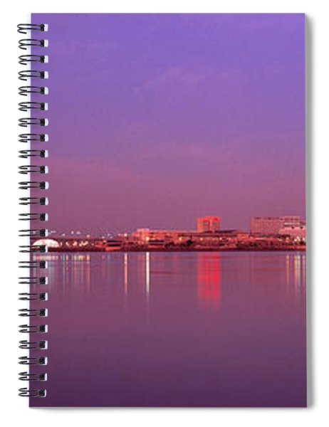Night Memphis Tn Spiral Notebook