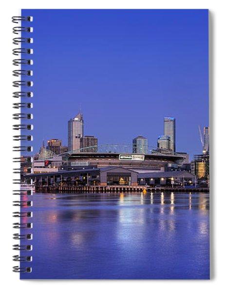 Night Moods II Spiral Notebook