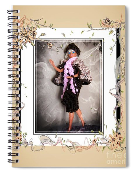Night On The Town - Fashion Doll - Girls - Collection Spiral Notebook