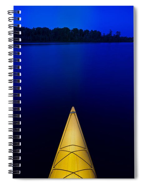 Night Paddle Spiral Notebook
