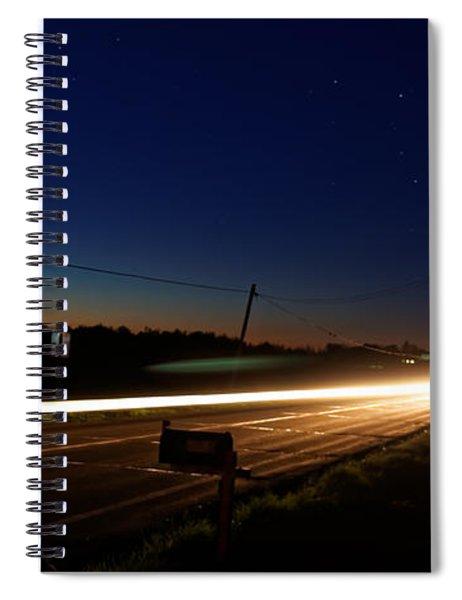 Night Passing Spiral Notebook